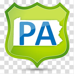 US State Icons, PENNSYLVANIA, PA art transparent background.