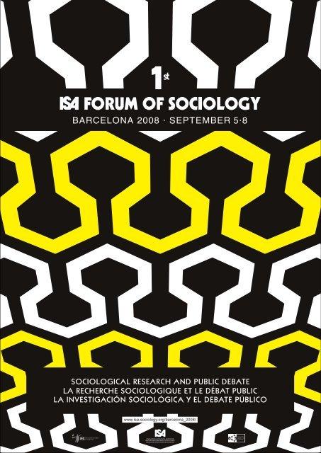 ISA Forum, Programme Book.