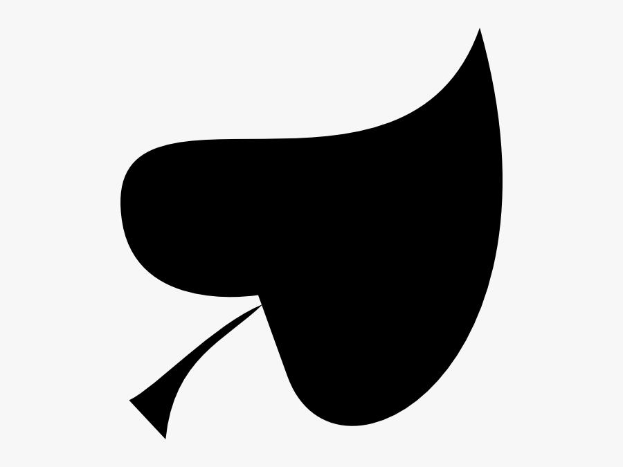 Transparent Leaf Clipart Black And White Outline.