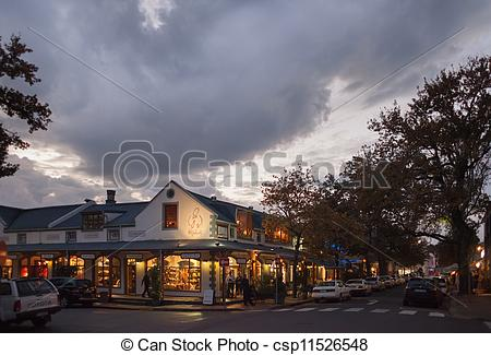 Stock Photo of Paarl, Franschhoek, South Africa.