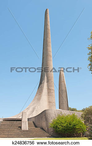Stock Images of Afrikaans Language Monument in Paarl k24836756.