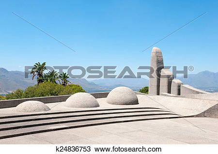 Stock Photo of Afrikaans Language Monument in Paarl k24836753.