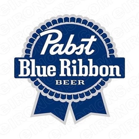 PABST BLUE RIBBON BEER LOGO ALCOHOL T.