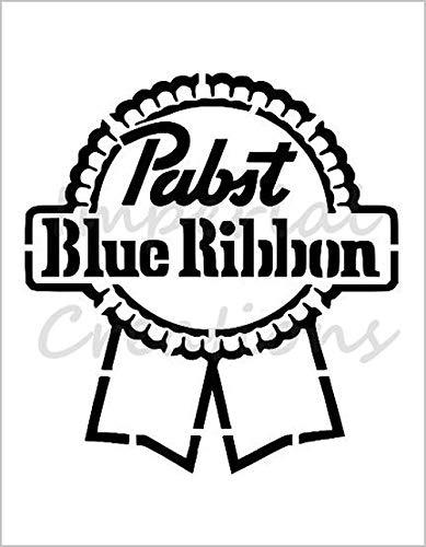 PABST BLUE RIBBON Pbr Beer Logo 8.5\