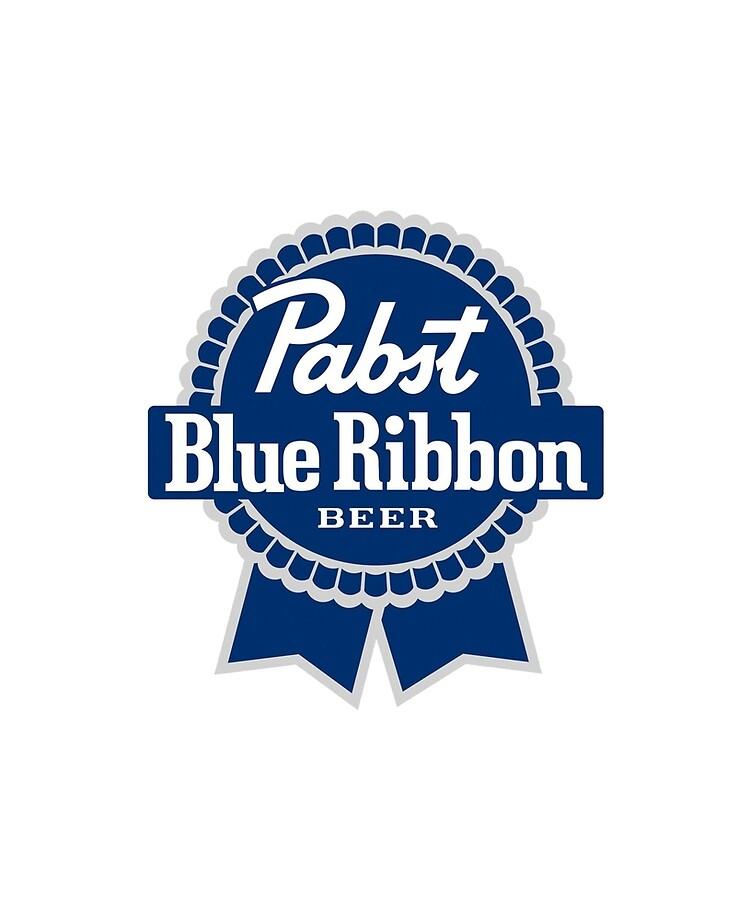 Pabst Blue Ribbon Beer logo.