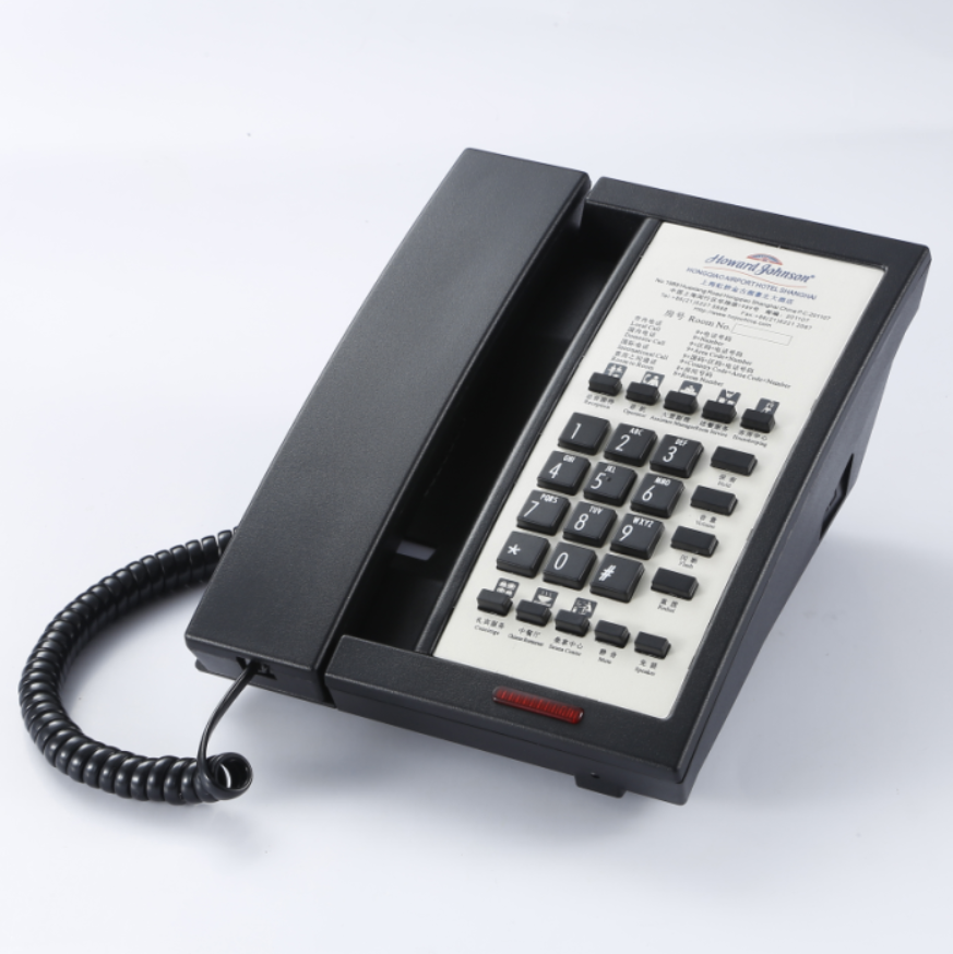 New Model Hotel Telephone With Mwl Work With Any Brand Pabx And Free  Faceplate Printing..