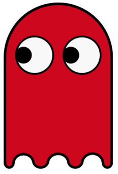 Pac Man Ghost.