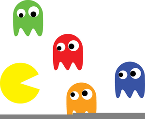 Pacman Game Clipart.