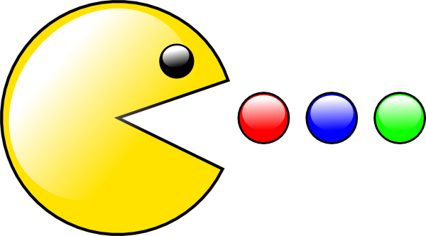 Pacman (yet Another) Clip Art at Clker.com.