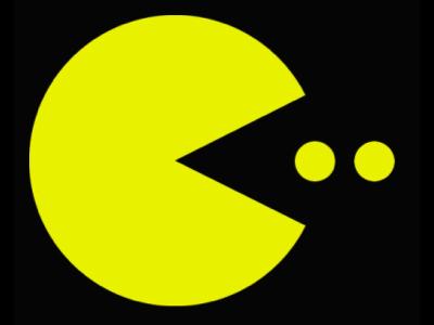 pacman logo.