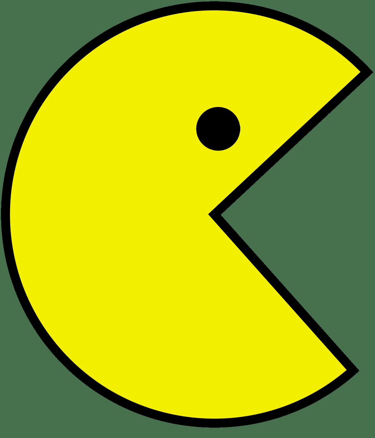 Pac Man transparent PNG.