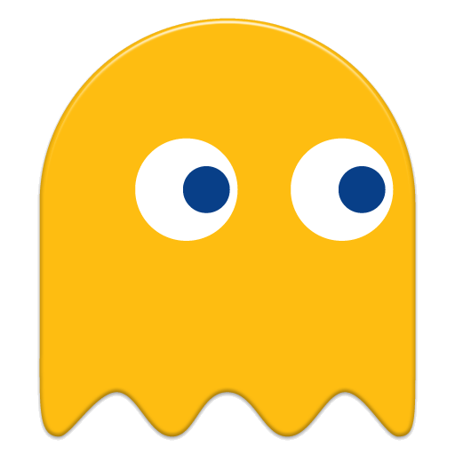 Pacman Ghost X Yellow Pac Man Printables Transparent Png.