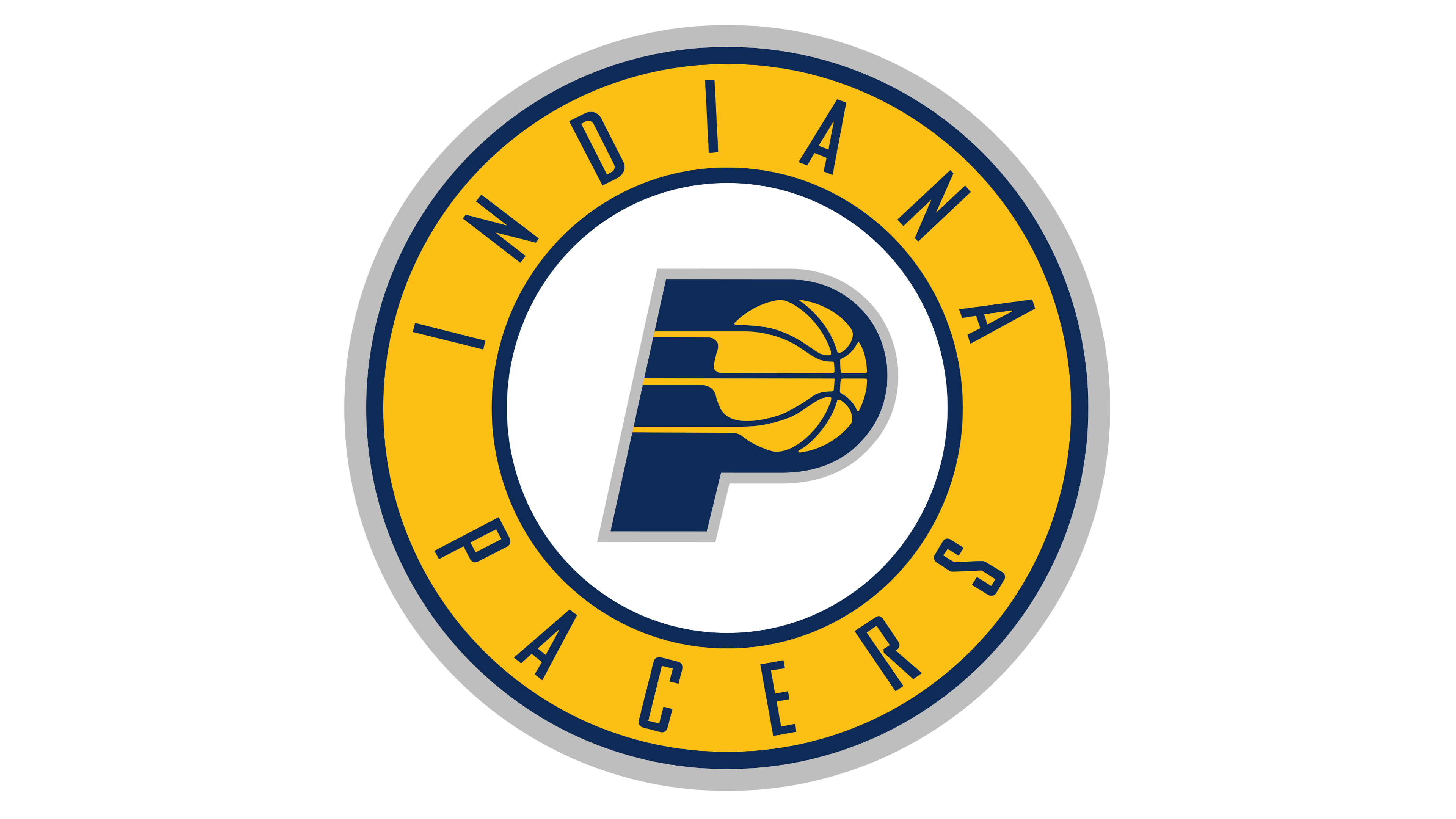 Indiana Pacers Logos.