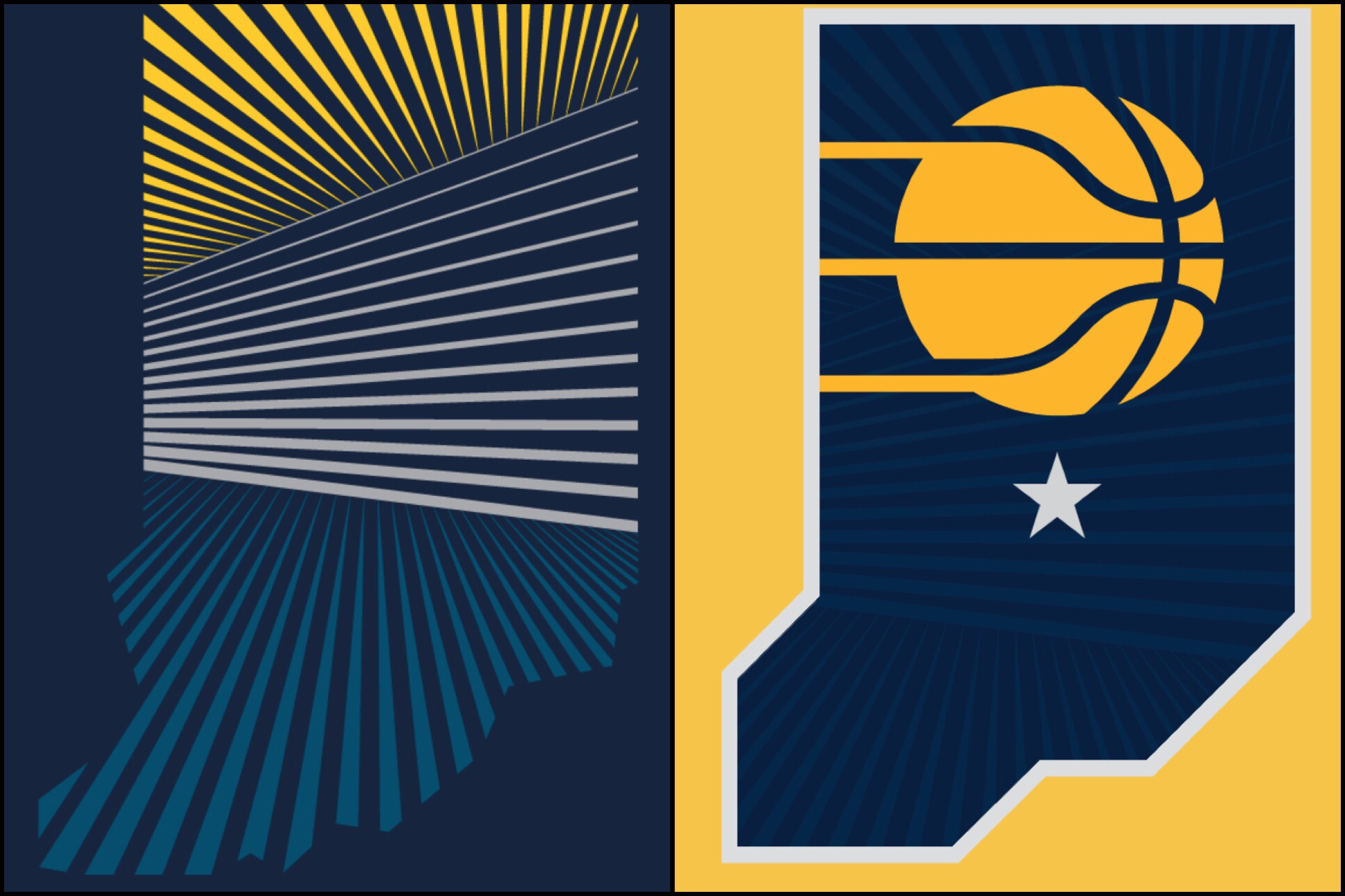 Pacers Unveil New Visual Identity Package.