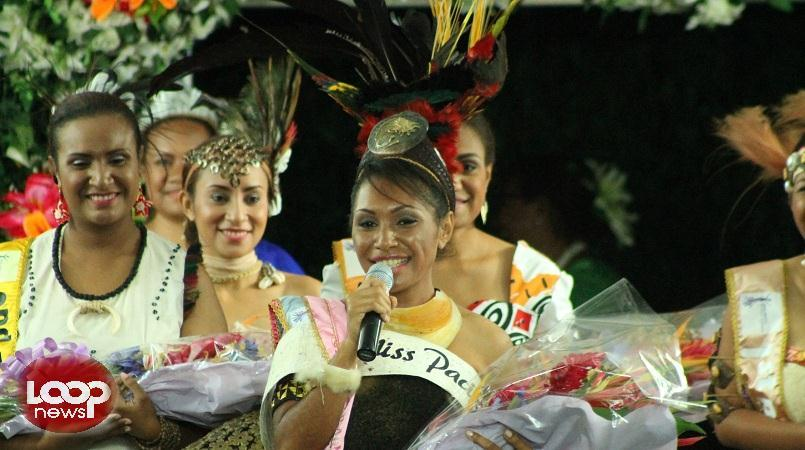 Meet the new Miss PNG!.
