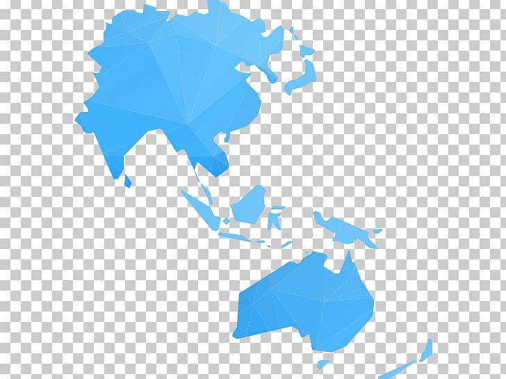 World Map Asia.