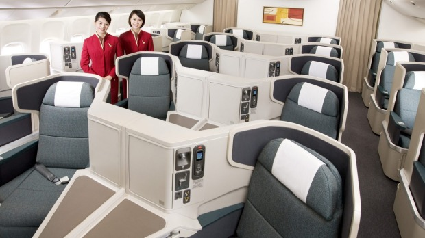 Airline review: Cathay Pacific business class, Boeing 777.