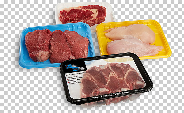 Meat Foam food container Packaging and labeling Foam food.