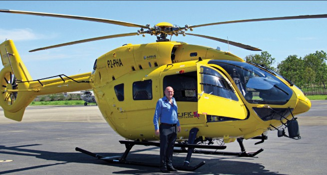 Pacific Helicopters introduces high tech chopper.