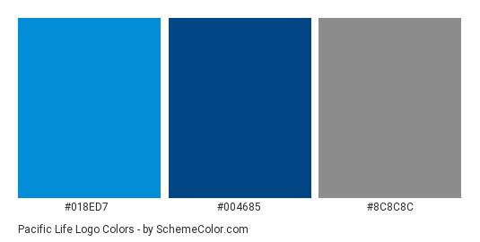 Pacific Life Logo Color Scheme » Blue » SchemeColor.com.