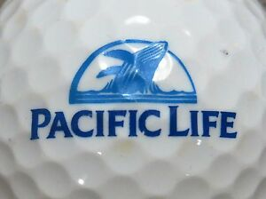Details about (1) PACIFIC LIFE INSURANCE LOGO GOLF BALL.