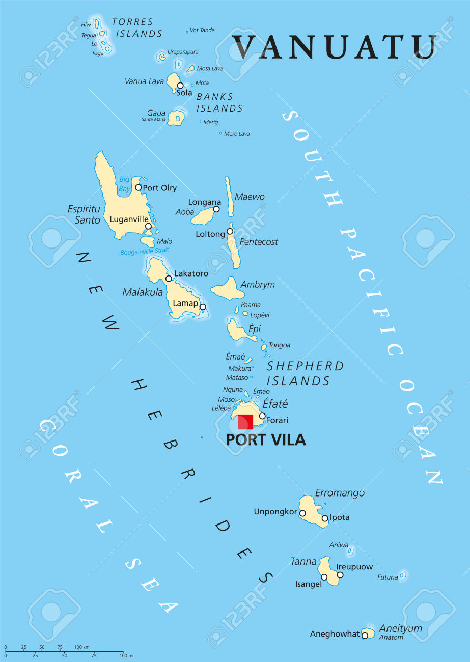 Map of pacific ocean clipart.