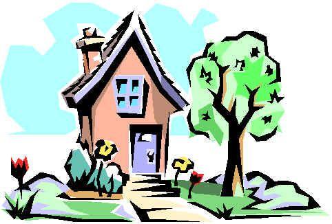 Cute Cartoon Houses.