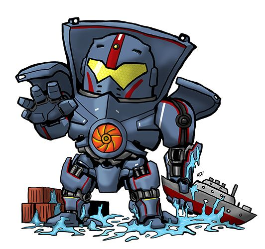 SD Gipsy Danger by metalheadkomik.deviantart.com on @deviantART.