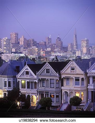 Stock Photo of Pacific Heights San Francisco u19838294.
