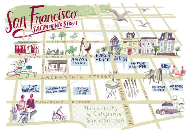 San Francisco Shopping Guide.