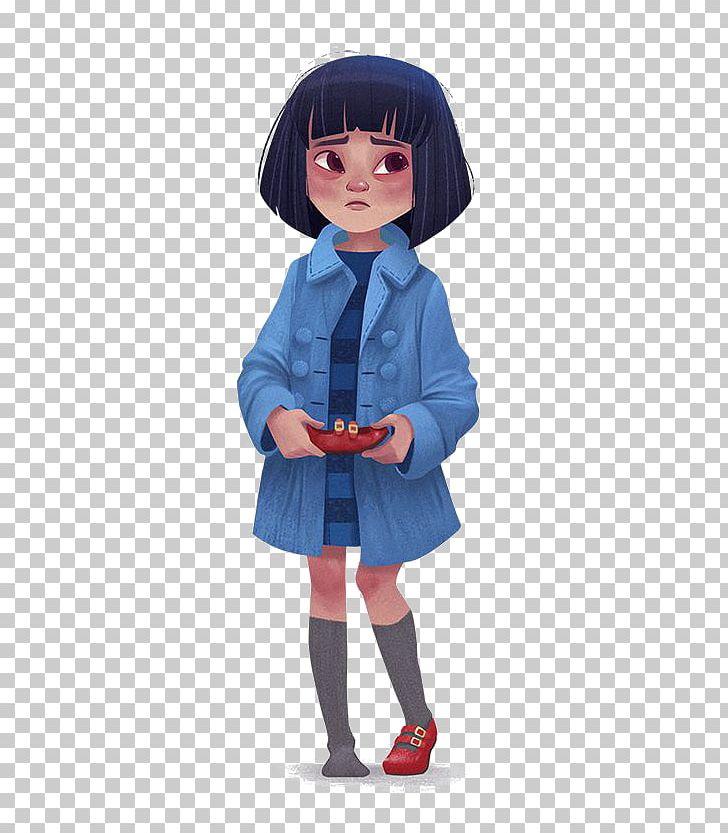 Pacific Rim Mako Mori Fan Art Character Illustration PNG.