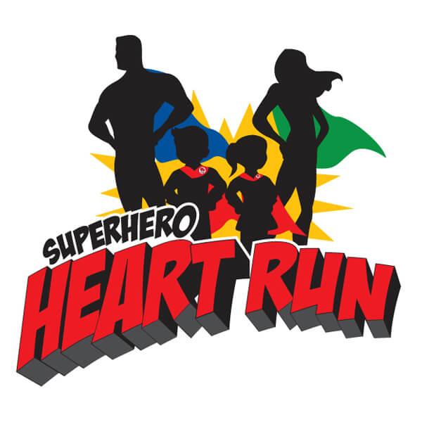 Mended Little Hearts Superhero Heart Run.