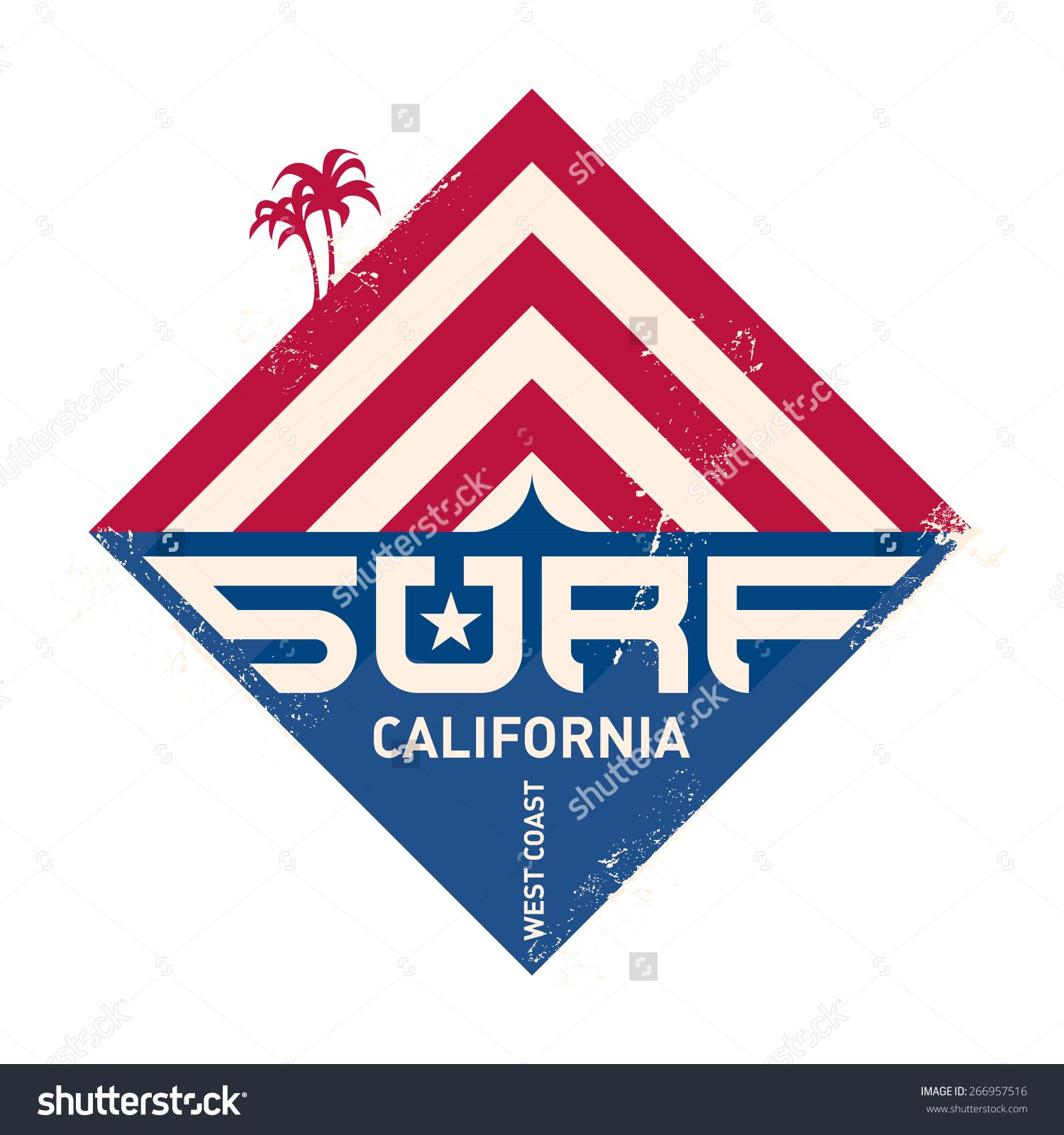 Pacific ocean logo clipart.