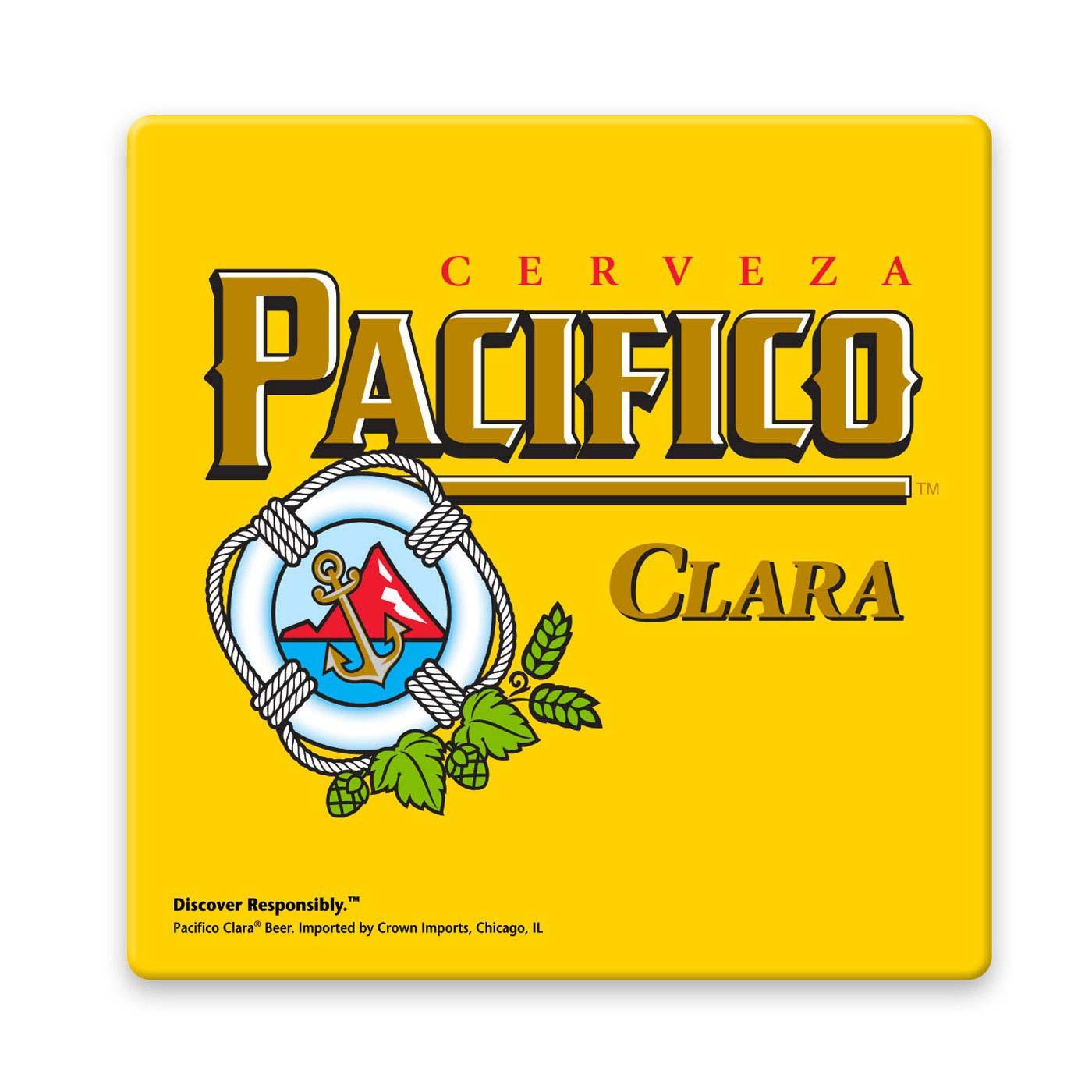 Pacifico Beer Coaster.