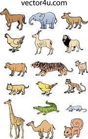 Animal Pack Clip Art, Vector Animal Pack.