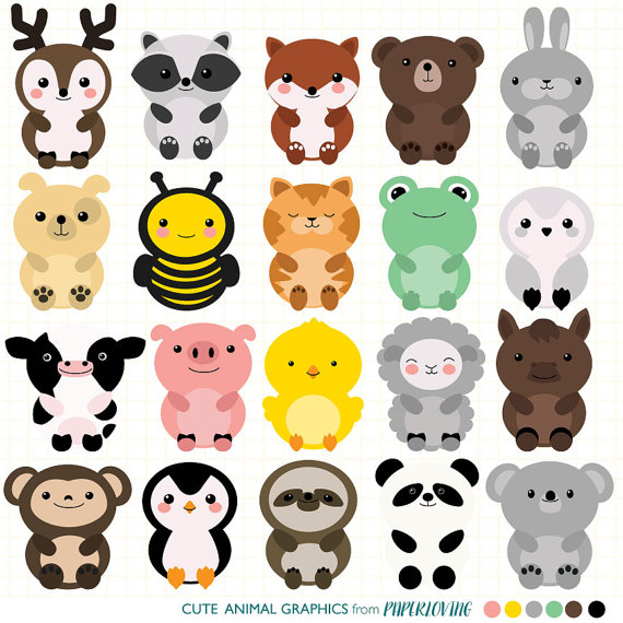 Animal clipart pack.
