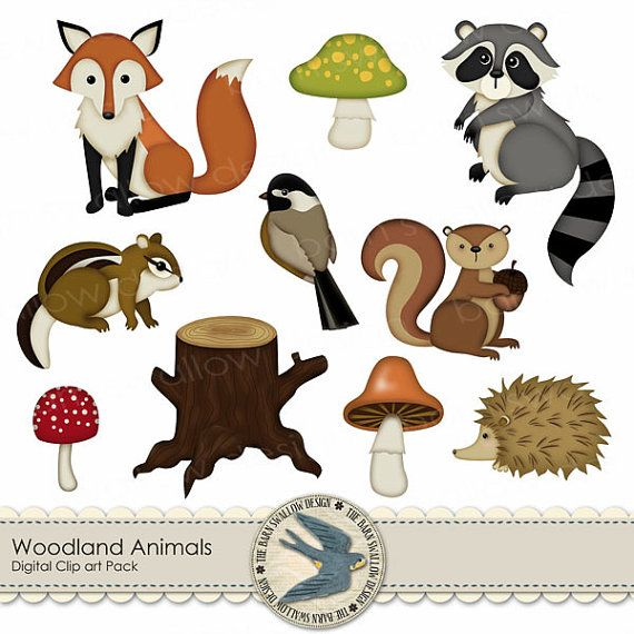 cute animal mid summer clipart #17