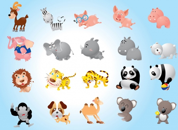 Free clipart of zoo animals free vector download (9,113 Free.
