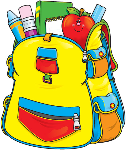 Pack backpack clipart 4 » Clipart Station.