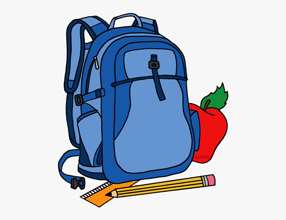 School Clipart Clipart Backpack.