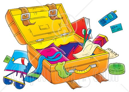 Pack Up Clipart.