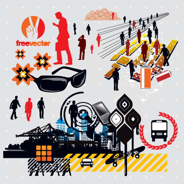 Free Vector Clip Art Pack.