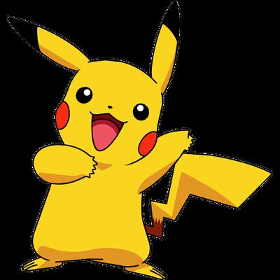 Pokemon Pikachu PNG transparente.