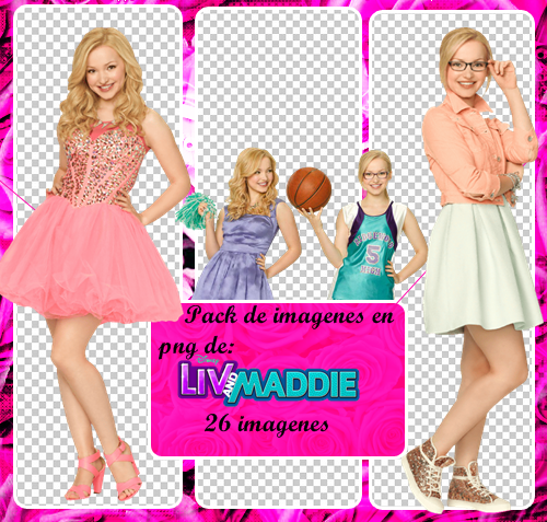 Pack de imagenes png de Liv y Maddie by SofyPuzio on DeviantArt.