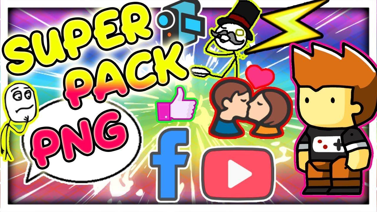 Super Pack PNG Recursos para Editar Emojis, Efectos, Redes Sociales, y  Mucho Mas !! Sin Fondo.