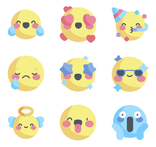 262 emoji icon packs.