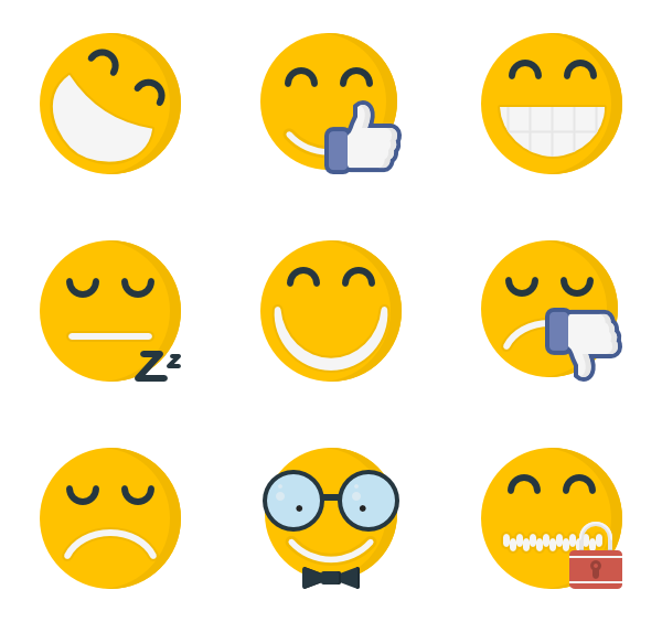 201 emoji icon packs.