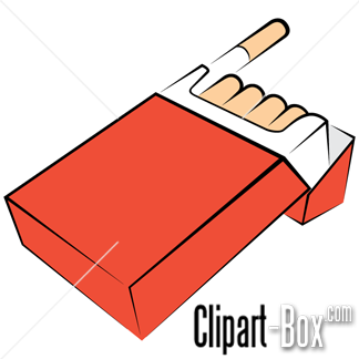 CLIPART PACK OF CIGARETTES.