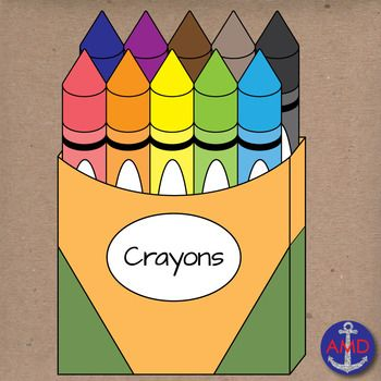 Back to School Crayons.