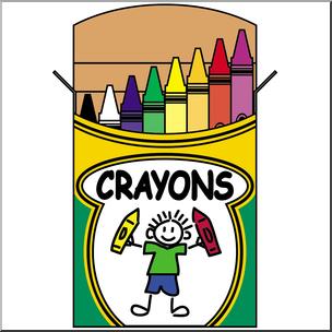 PNG Crayon Box Transparent Crayon Box.PNG Images..
